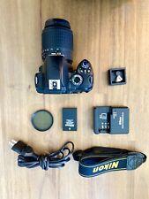 Nikon D D60 10.2MP Digital SLR Camera - Black (Kit w/ 55-200mm Lens)