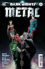 BATMAN DARK NIGHTS METAL #1 FOIL STAMPED COVER 1st Print 16/08/17