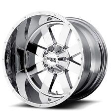 "New(4) Off Road 18x9"" Moto Metal Wheels MO962 Chrome Rims"