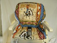 CHICCO POLLY High Chair Cover/Rodeo ~~FUN~~