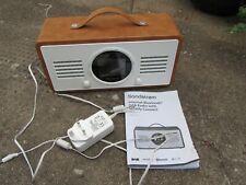 Sandstrom SC-IBTB18 internet/DAB+/spotify/bluetooth rechargeable radio