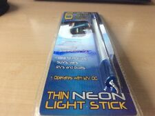 "Light-Up Blue 6""Thin Neon Light Stick by 54 Studio - Hot Rods,Racecars & Rats!"