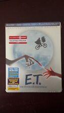E.T. THE EXTRA-TERRESTRIAL STEELBOOK [NEW/OOP/Blu-ray+DVD+DC+UV] Target