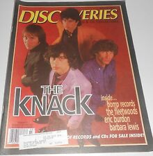 Discoveries Music Mag - #82 - Mar '95 - The Knack, Fleetwoods, Eric Burdon.