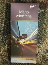 IDAHO MONTANA STATE SERIES HIGHWAY MAP AAA 2/18-5/19 NEW