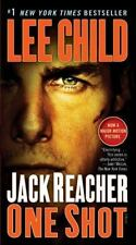 JACK REACHER ONE SHOT: 9 LEE CHILD (2012, PAPERBACK, MOVIE TIE IN) FREE SHIPPING