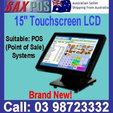 "NEW SAXPOS 15""Inch LCD Touch Screen Monitor For Point of Sale Systems Display"