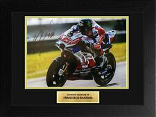 Francesco Bagnaia MotoGP Ducati Framed Signed Autograph Photo COA