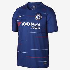 Youth 2018/19 Team Chelsea Football Club Home Blue Stadium Jersey Soccer Medium