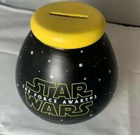 Star Wars The Force Awakens Ceramic Money Bank - Used Good Condition