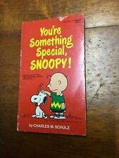 Charles M Schultz You're Something Special Snoopy Vintage Snoopy comic