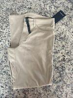 "Lululemon Men's ABC Pant Classic 32""L Warpstreme LM5583S TFSD Tan Size 32 NWT"