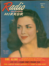 Radio &TV Mirror Feb 1941 Magazine 2nd Superman in Radio serial with art.