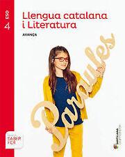 (CAT).(16).(AVANZA).LENGUA LIT. 4T.ESO *CATALUÑA*. ENVÍO URGENTE (ESPAÑA)
