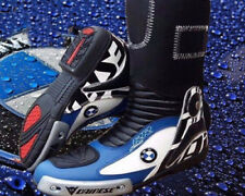 Motorcycle Motorbike Racing  Bmw Leather Boots Street Gear Leather Boots
