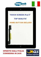 TOUCH SCREEN Apple iPad 3 A1403 A1430 A1416 3G - WIFI VETRO + TASTO HOME NERO
