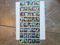 Cardinals Team Stan Musial Enos Slaughter 1949 Eureka Stamp Sheet 40 Stamps RARE