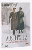 Auschwitz DVD (2005) Laurence Rees cert 12 2 discs ***NEW*** Fast and FREE P & P