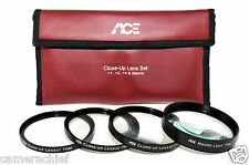 77mm HD Digital High Definition Close-Up Macro Lens Filter Kit Set 4 DSLR Camera