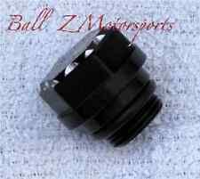 Hayabusa Black Silver Ball Cut 3D Hex Engraved Oil Cap!  99-01-05-07-08-12-15-17
