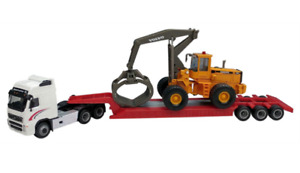 Cararama 185004 - Volvo FH12 with Timber L180C 1/87 Scale - Tracked 48 Post