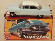 Matchbox Superfast 2000 Model 25 Cadillac Fleetwood 1955, MINT Model nr mint Box