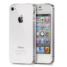 Ultra Thin Transparent TPU Case Back Cover For iPhone 4/4S