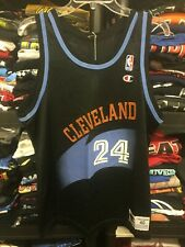 Cleveland Cavs Cavaliers Chris Mills 1990s Champion NBA Basketball Jersey #149