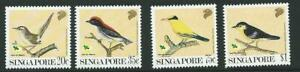 SINGAPORE SG663/6 1991 GARDEN BIRDS   MNH