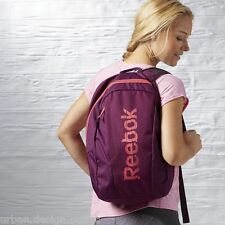 Mochila Escolar Gimnasio Colegio Reebok Essentials Bolsa De Deporte Muchachas Mujeres Mochila