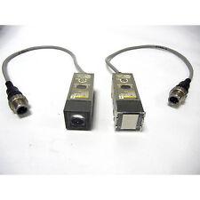 OMRON PHOTOSENSOR EMITTER/RECEIVER PAIR - E3L-2DB4-M1J - SECURITY ELECTRONICS