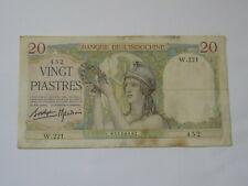 French Indochine PREPRODUCTION 500 Piastres 1951 Vietnam banknotes