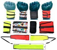 CrossFit Power Lifting Strength Straps Wrist Wraps Fitness Gym Bodybuilding