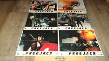 FREEJACK ! Mick Jagger jeu 6 photos cinema lobby cards fantastique