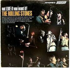 "THE ROLLING STONES ""Got Live If You Want It"" Vinyl LP - 1966 London PS 493 - VG+"