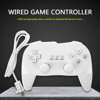 Classic Wired Gamepad Controller for Nintend Wii Joypad Remote Control Game
