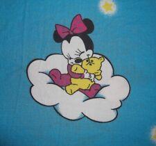 Disney Babies Micky Maus Minnie Mouse Bettwäsche-Bezug 90s/er Fabric Duvet Goofy