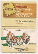 """Kultiwirte Oberösterreich - Bierdeckel """"Die Kultiwirte Zeitung"""""""