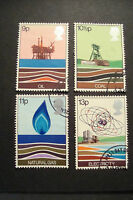 GB 1978 Commemorative Stamps~Energy~Very Fine Used Set~UK Seller