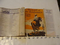 ZANE GREY: THE LAST OF THE PLAINSMEN 1936