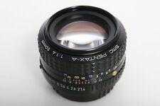 SMC Pentax - A, 50mm f1.4 Prime Lens Pentax K Mount