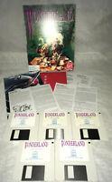"1990 Wonderland Virgin PC Game in Box 3.5"" Disks (NO MANUAL, Untested)"