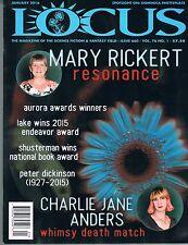 Locus #660 Magazine of the Science Fiction & Fantasy Field Jan 2016