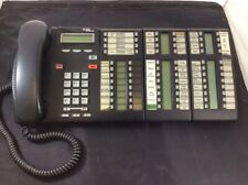 Nortel Norstar BCM Charcoal LCD Display Receptionist Phone 2x T24 KIM T7316E