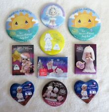 New ListingPrecious Moments assortment of 10 pins from the 1990s