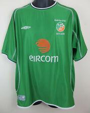 Umbro Republic Of Ireland Eire 2002 World Cup Home Football Shirt Jersey Mens XL