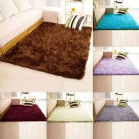 Hot Soft Fluffy Rugs Area Rug Dining Room Carpet Door Bedroom Floor Mat Pad Rug