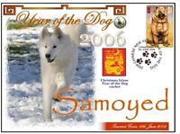 SAMOYED CHINATOWN YEAR OF THE DOG STAMP COVER 1
