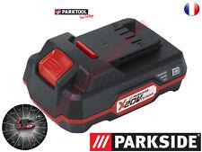 Batterie PARKSIDE 20V Capacité 2 Ah pour les appareils de la série X20V-TEAM
