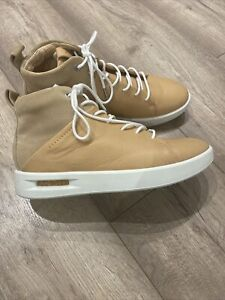 Woman ecco Ancle Boots Real Leather Shoes Uk5.5/eur38 Winter